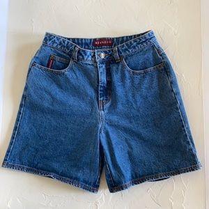 Vintage Nevada High Waisted Denim Shorts
